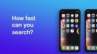 Opera Touch vs Apple Safari - How fast can you search? | Opera thumbnail