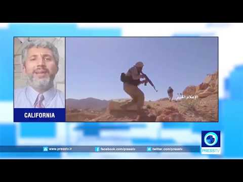 Prof. Azadgan (Press TV) - Hezbollah Defeating Al-Nusra Terrorists in Syria-Lebanon Border Town