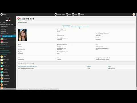 RosarioSIS — School management web-app