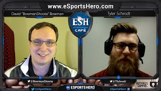 eSports Hero Café: Episode 4 - Collegiate eSports w/ Tyler Schrodt