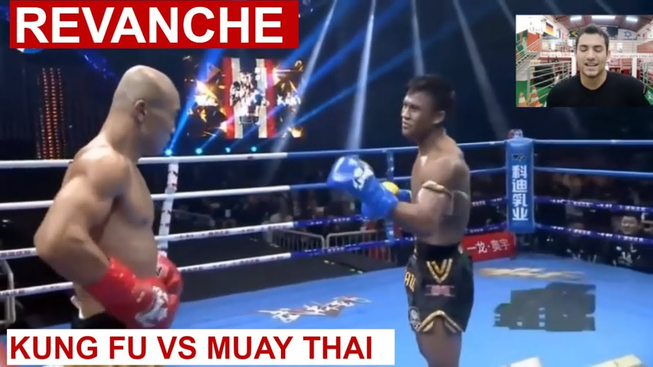 REVANCHE - KUNG FU YI LONG VS CAMPEÃO MUAY THAI BUAKAW