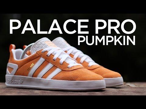 daf1d894 Closer Look: adidas Palace Pro - Pumpkin - YouTube