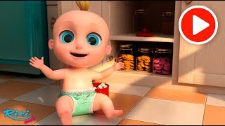 Johny Johny Yes Papa | Песенка и Мультфильм - LooLoo Kids на Русском 👶