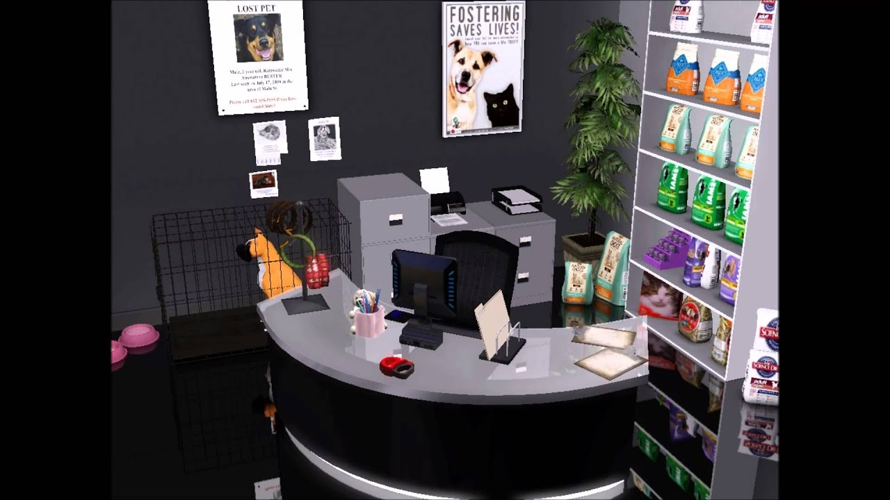 The Sims 3 Veterinary Clinic