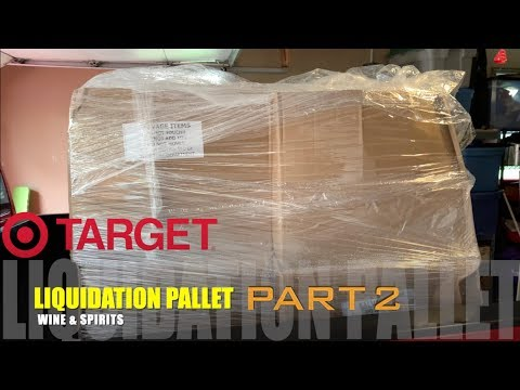I Paid ONLY $321 for a $4000 WINE & SPIRITS Customer Return & Overstock TARGET Liquidation Pallet