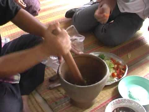 พื้นบ้านอาหารไทย ตอนแกงเห็ด 2