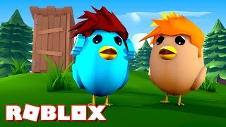 ROBLOX-I TURNED a BIRD!! (Simulateur d'oiseaux)