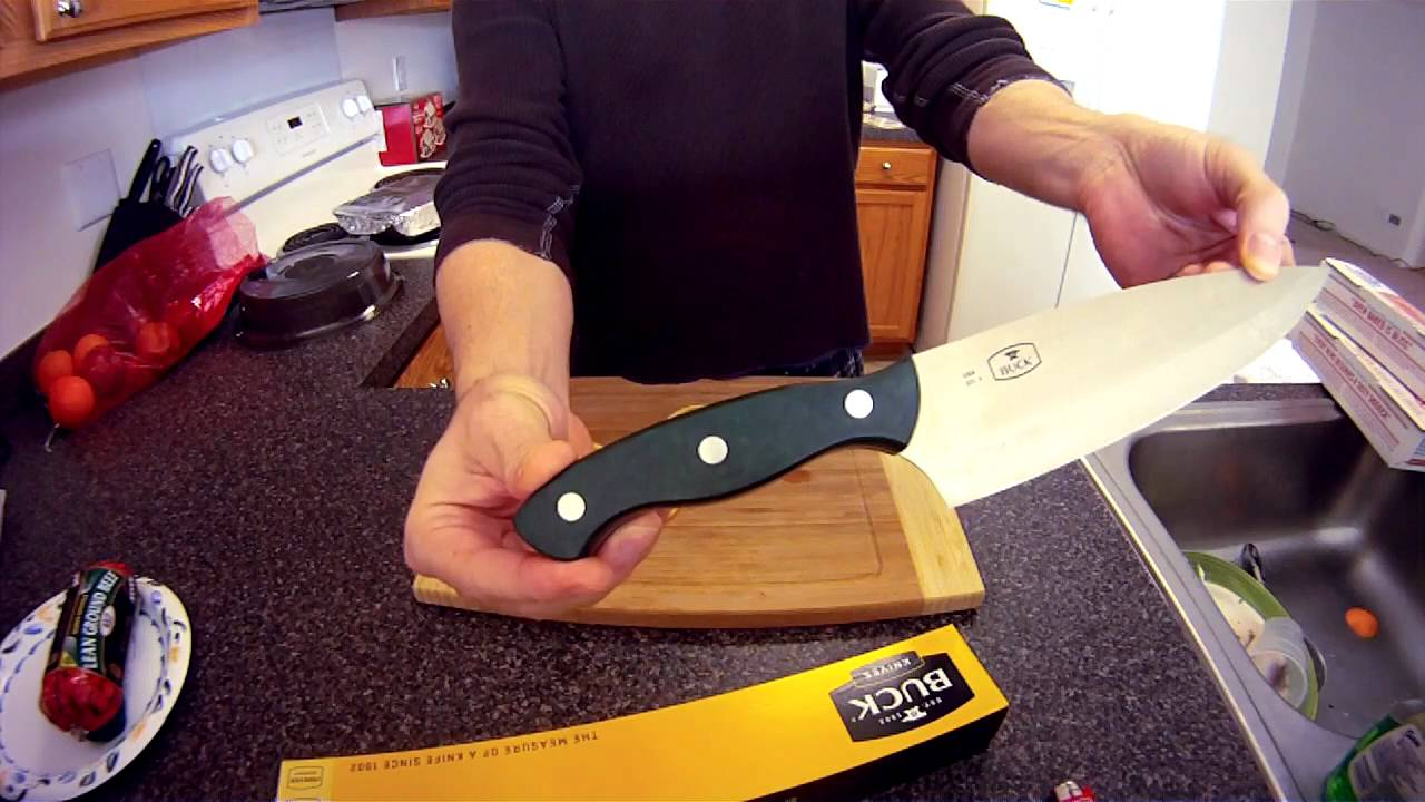 Buck Knife Product Review 931 Chef Knife Youtube