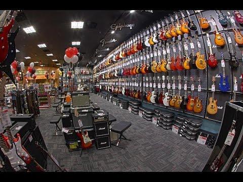 Классный магазин музыкальных инструментов в Сан Диего ЦЕНЫ Ассортимент Guitar Center