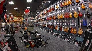 Классный магазин музыкальных инструментов в Сан Диего ЦЕНЫ Ассортимент Guitar Center(, 2015-11-16T04:14:10.000Z)
