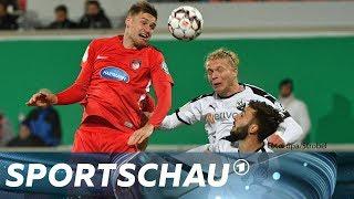 DFB-Pokal: FC Heidenheim gegen SV Sandhausen - die Highlights | Sportschau