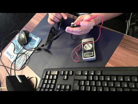 Toshiba Notebook Laptop Netzteil Mit Einem Multimeter Messen Defekt