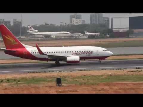 S2-AHD Boeing 737-700 Regent Airways Take Off from Hazrat Shahjalal International Airport Dhaka