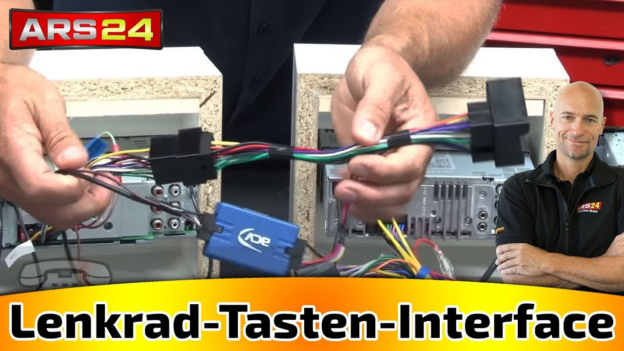 Bmw Stereo Wiring Diagram Project Management Aon Example Lenkrad-tasten-interface Für Alle Autos Nachgerüstete Autoradios || Tutorial Ars24.com ...