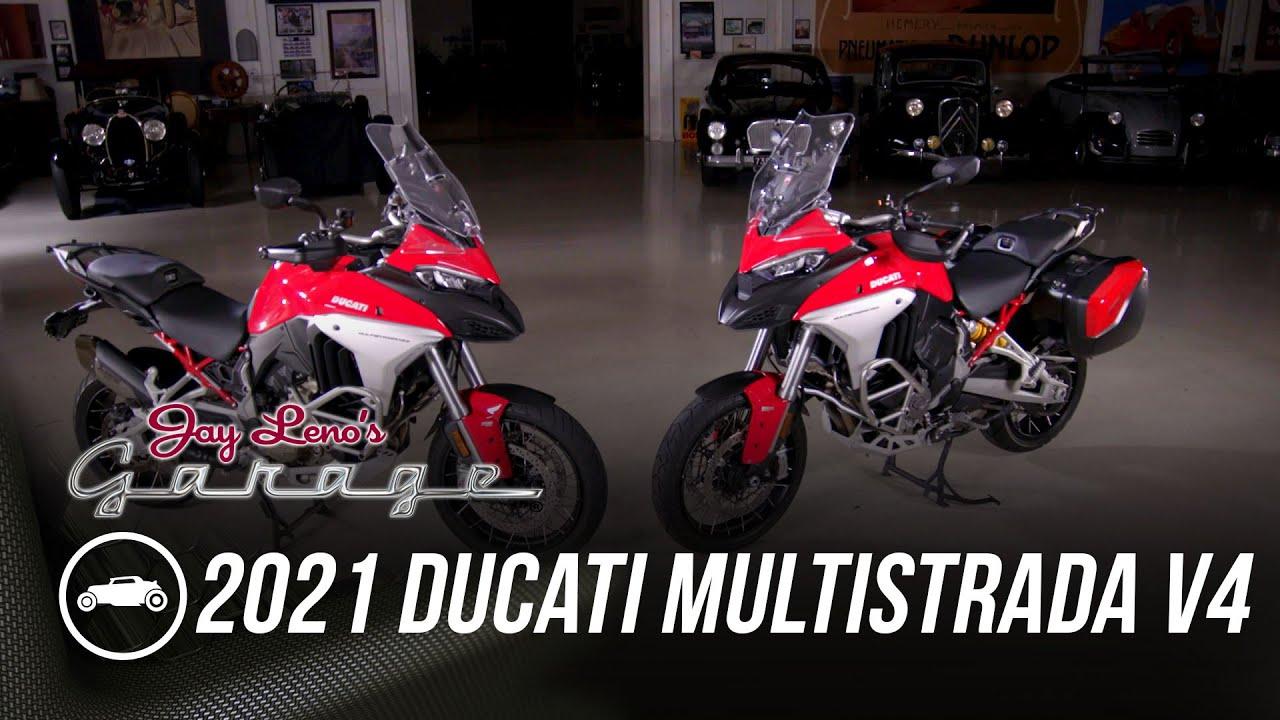 2021 Ducati Multistrada V4 - Jay Leno's Garage