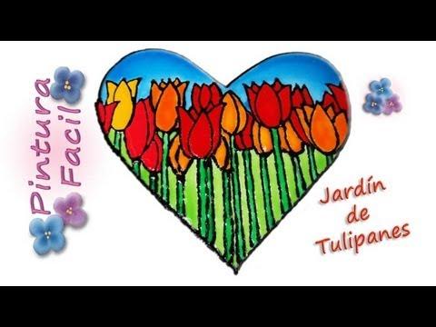 1 San Valentin Falso Vitral Corazon Para Pintar 14 De Febrero Manualidades Faciles Pintura Facil
