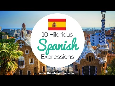 10 Hilarious Spanish Expressions 🇪🇸