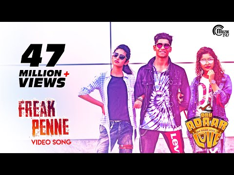 Oru Adaar Love| Freak Penne Rap Song| Priya Varrier, Roshan,