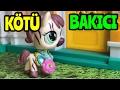 MİNİŞLER: KÖTÜ BAKICI - Minişler Cupcake Tv - Littlest Pet Shop - Türkçe Miniş Videoları - LPS Miniş
