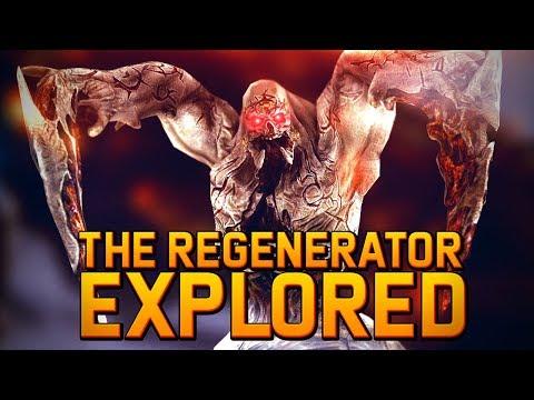 The Regenerator Necromorph Explored   Substage Ubermorph and Hunter Relation   Dead Space 3 Lore