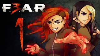 FEAR 3 Co-Op Gameplay: 1 GUN SON |PART 1| Let