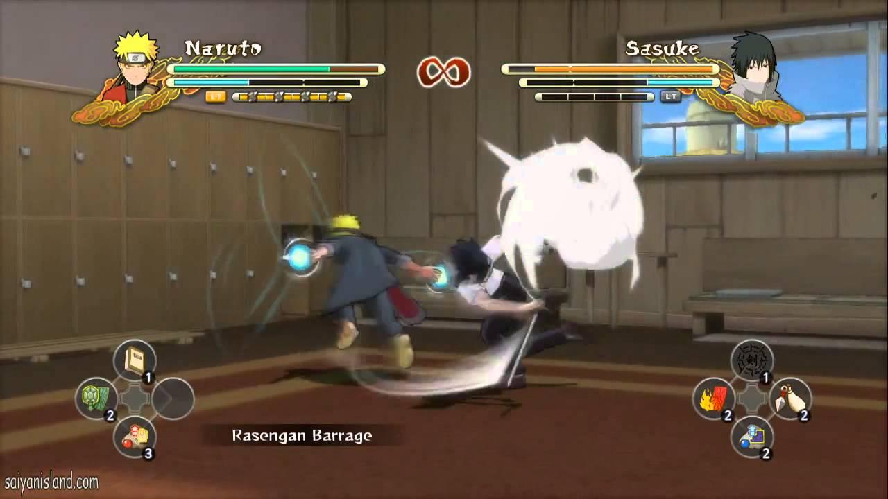 [NEW DLC] Student Naruto vs Student Sasuke - Naruto Storm 3