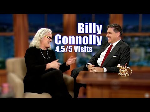 Billy Connolly - Two Scottish Stand Up Comedians Walk Into A Talkshow - 4.5/5 Visits In Chron. Order