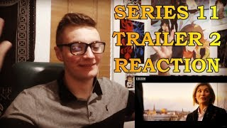 DOCTOR WHO - SERIES 11 TRAILER 2 REACTION