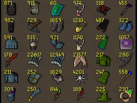 Selling Single Pking Tab OSRS