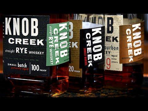 Knob Creek Rye Whiskey Review / Bourbon vs. Rye Taste Comparison