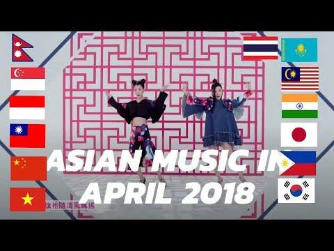 Asian music in April 2018 [4/2018]