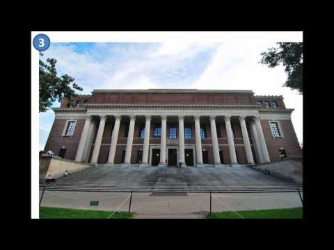 Harvard Campus: Widener Library