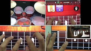 """Mundo"" by IV of Spades played on GarageBand for iPad and iPhone"