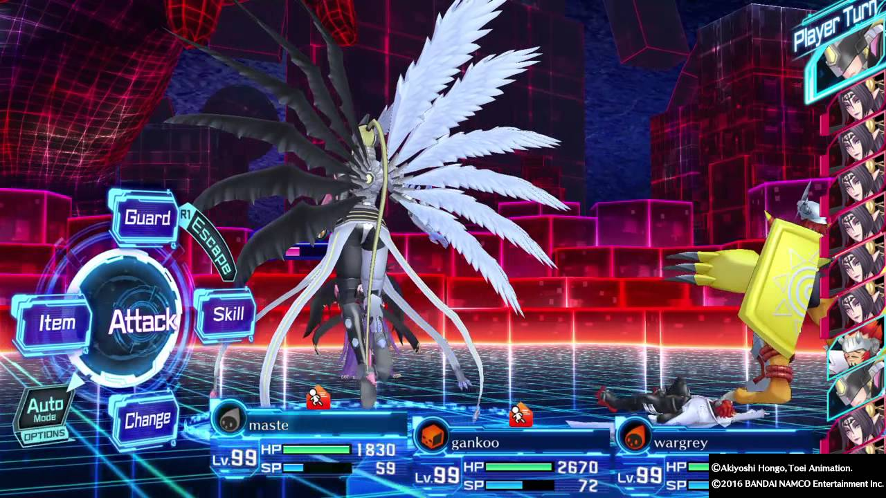 DIGIMON STORY CYBER SLEUTH LILITHMON HARD MODE - YouTube