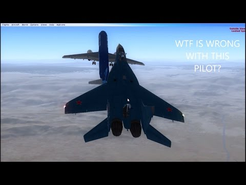 SUICIDAL PILOTS GET INTERCEPTED BY MIG 29