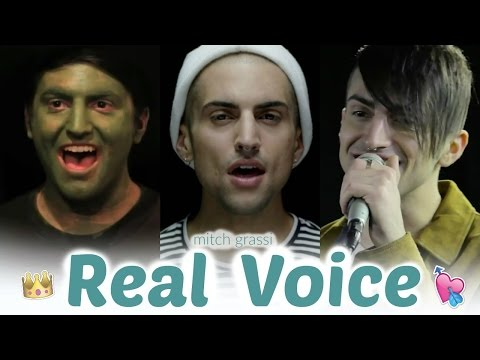 "Mitch Grassi ""Real Voice"" (Live)"
