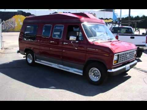 1989 Ford E Series Van CONVERSION For Sale In Spokane Valley WA