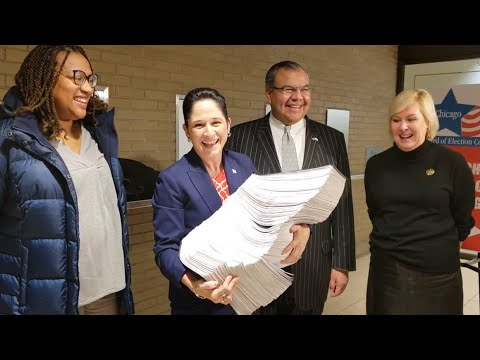 We Filed My Petitions for Chicago Mayor | Susana Mendoza for Mayor