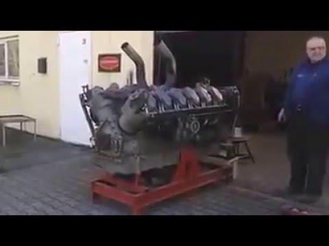 v-12 Tank engine (German Panther)