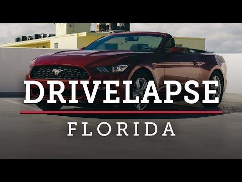 FORD MUSTANG ROAD TRIP — Florida Drivelapse