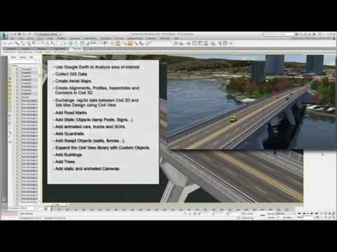 Using 3ds Max Design With Civil 3D - Part 25 - Things To Try