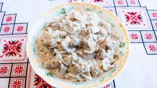 Салат из баклажанов на зиму (баклажаны как грибы) Салат з баклажанів на зиму (баклажани як гриби)