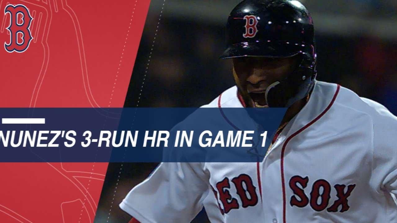 Download Nunez's pinch-hit, three-run homer caps Game 1 win