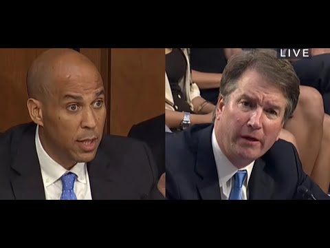 Sen. Booker Stunned by Kavanaugh Answer on Yale Black Law Students Association