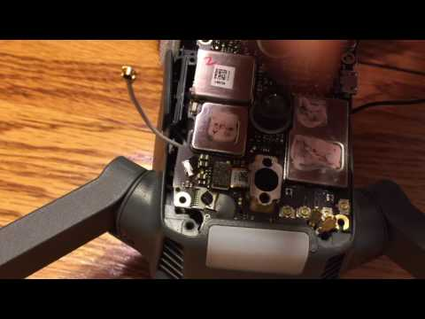 DJI Mavic How to replace the lower core circuit board