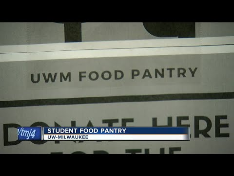UW-Milwaukee's campus food pantry help ease student hunger