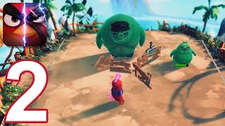 Angry Birds Evolution - Gameplay Walkthrough Part 2 - Chapter 2 (iOS, Android)