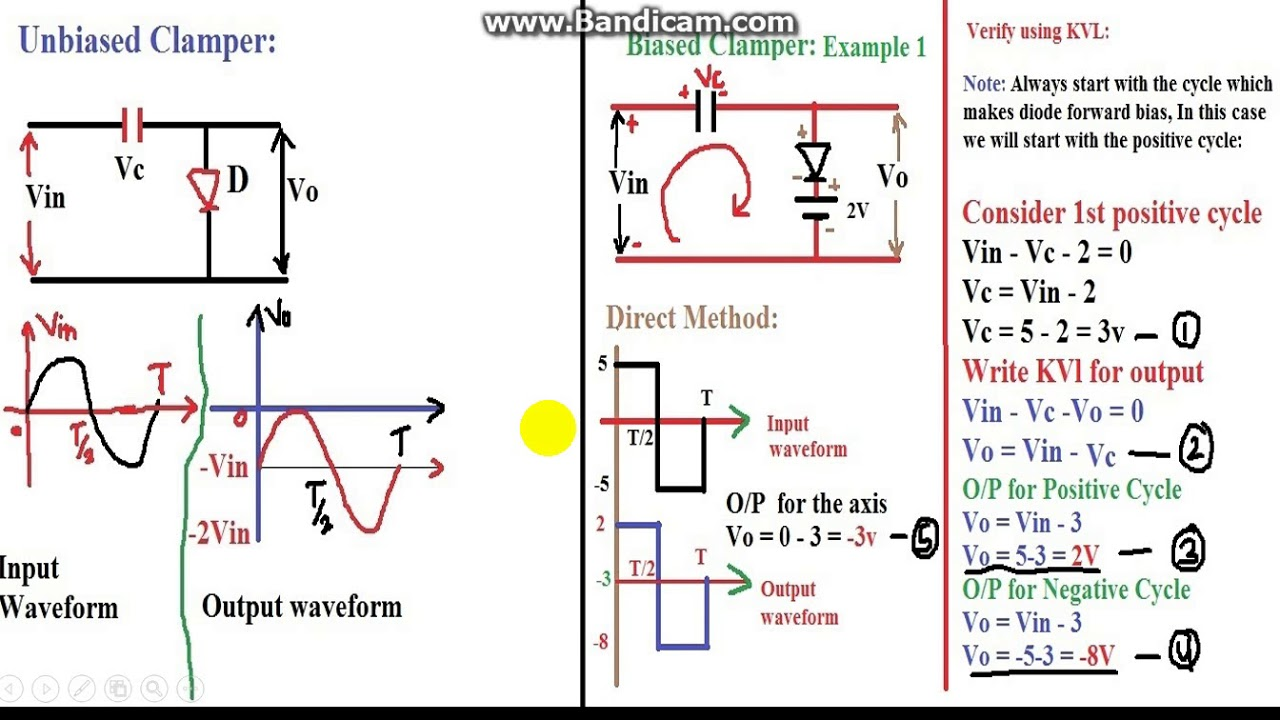 Diode Clamper Circuit Negative Unbiased Wiring Diagrams Aemc Cbi 1 Breaker Tracer And Identifier Ebay In Hindi Youtube Rh Com Tool Chapters