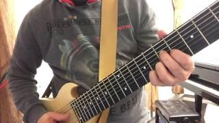 RonB8 Funky Plucking 150912m S Ron Baggerman 8-string bass & guitar ERB ERG