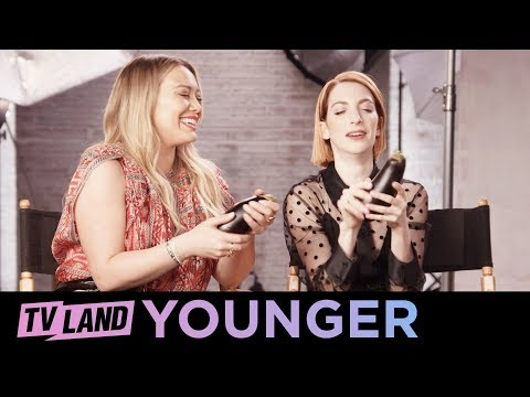 Cast of Younger Play 'Cop a Feel'   TV Land